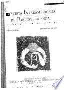 Revista interamericana de bibliotecología