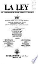 Revista juridica española de doctrina, jurisprudensia y bibliografia