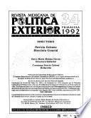 Revista mexicana de política exterior