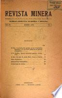 Revista minera, geología y mineralogía