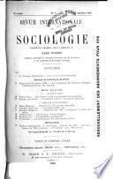 Revue internationale de sociologie