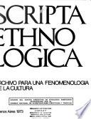 Scripta ethnologica