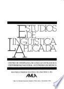 Segundo Congreso Nacional de Lingüística