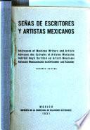 Señas de escritores y artistas mexicanos