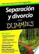 Separación y divorcio para Dummies