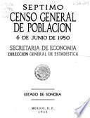 Séptimo censo general de población, 6 de junio de 1950