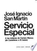 Servicio especial