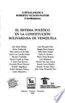 Sistema político en la Constitución Bolivariana de Venezuela