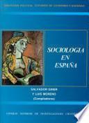 Sociología en España