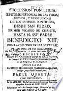 Succession pontificia