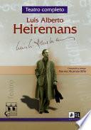 Teatro completo de Luis Alberto Heiremans