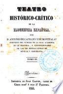 Teatro histórico-crítico de la elocuencia española