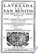 Teatro Monastico De La Provincia De Asturias, Y Cantabria