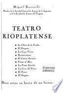 Teatro rioplatense