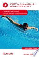 Técnicas específicas de nado en el medio acuático. AFDP0109