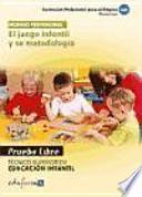 Técnico Superior en Educación Infantil, El juego infantil y su metodología. Pruebas libres
