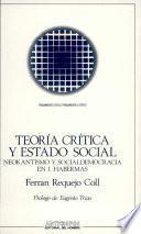 Teoría crítica y estado social