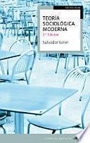 Teoría sociológica moderna