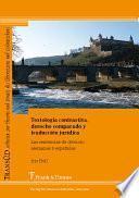 Textología contrastiva, derecho comparado y traducción jurídica