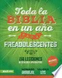 Toda la Biblia en un año para Preadolescentes