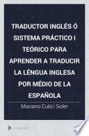 Traductor ingles