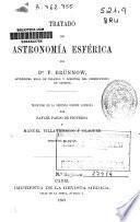 Tratado de astronomía esférica