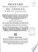 Tratado de las siembras y plantios de arboles, y de su cultivo