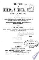 Tratado de medicina y cirugia legal teórica y práctica