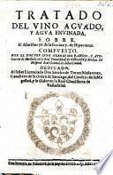 Tratado del Vino aguada y Aqua envinada. Sobre el aforismo 56 de la seccion 7 de Hipocrates