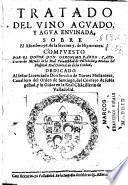 Tratado del vino aguado y agua envinada, sobre el aforismo 56 de la seccion 7 de Hipocrates