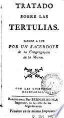 Tratado sobre las tertulias