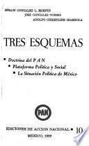 Tres esquemas: Doctrina del PAN