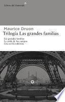 Trilogía Las grandes familias