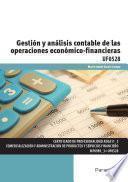 UF0528 - Gestión y análisis contable de las operaciones económico financieras