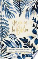 Un ao en la Biblia, acuarela / A year in the Bible, watercolor