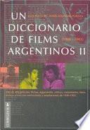 Un diccionario de films argentinos: 1996-2002