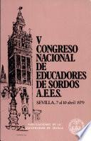 V Congreso Nacional de Educadores de Sordos
