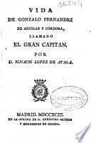 Vida de Gonzalo Fernandez de Aguilar y Cordoba