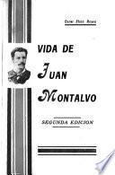 Vida de Juan Montalvo
