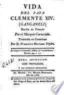 Vida del Papa Clemente XIV (Ganganeli)