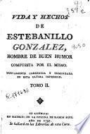 Vida y hechos de Estebanillo Gonzalez
